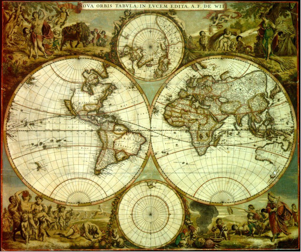 Planisferio Celeste Antiguo